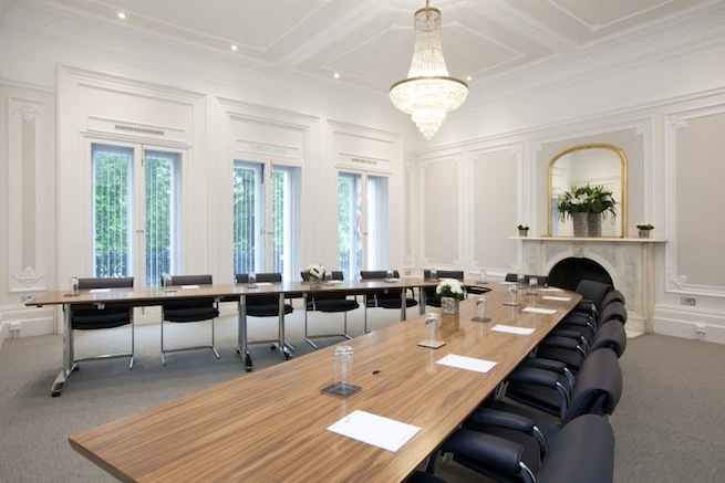 A refurbished Victorian house which now houses offices. Excellent conference facilities and a 5th floor lounge area overlooking Hyde Park.