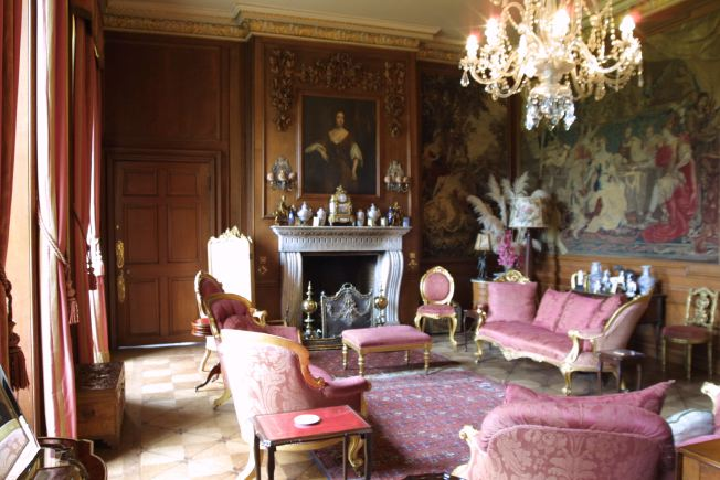 Three historic sitting rooms in an Oxfordshire Stately home.