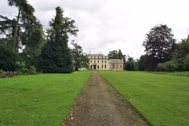 Extensive grounds and parkland of Stately Home.
