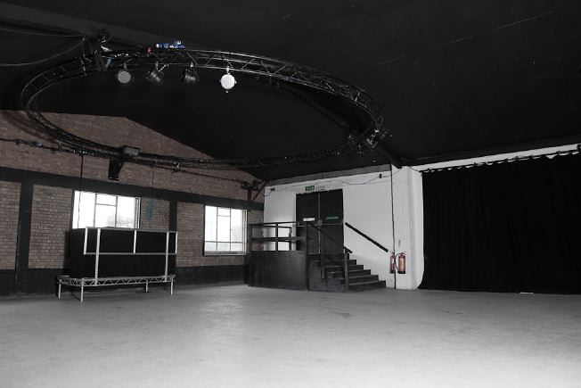 Versatile studio/ event space near the Olympic Park. Has full facilities, vehicle access and black out.