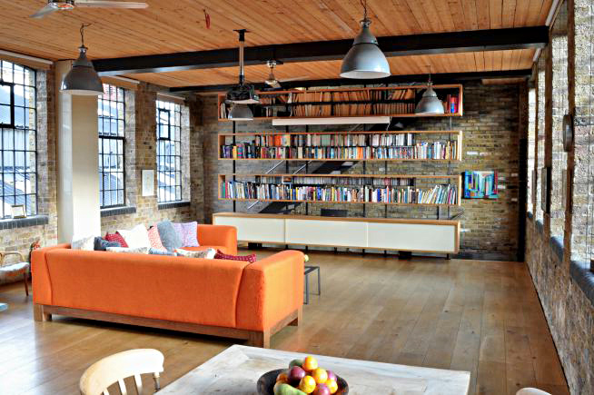 Living Spaces Warehouse : An old Victorian warehouse stylishly converted into a ...