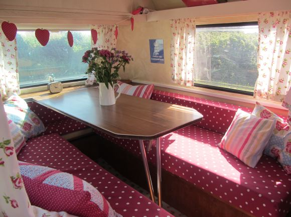 Amazing Having Always Loved Classic Vehicles And Holidaying In An Old Mercedes Camper Van, They Became Pioneers Of The Vintage Glamping Trend When They Set Up An Unconventional Campsite In A Nearby Rented Field, Offering Holiday Lets In Caravans