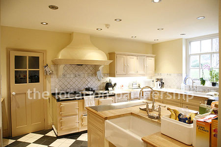 Kitchen on Wonderful Light And Airy Country Kitchen Complete With Aga