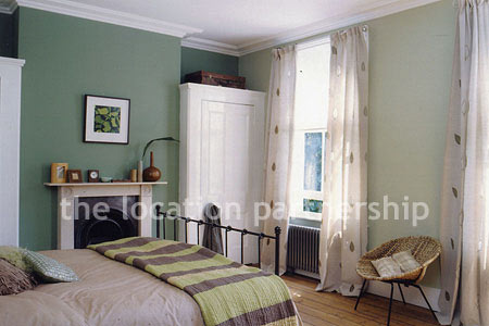 Traditional bedroom in a beautifully refurbished victorian for Bedroom ideas victorian terrace