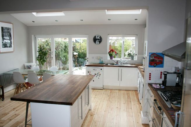 Four Bedroom Terraced House With Large Open Plan Kitchen