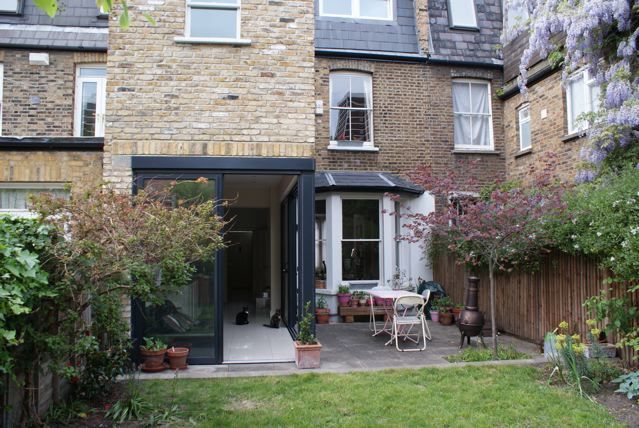 West london for Terrace kitchen extension