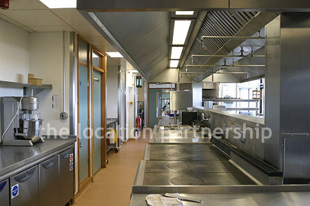Large Modern Commercial Kitchen This Is A Training Kitchen So Generally Only Available At