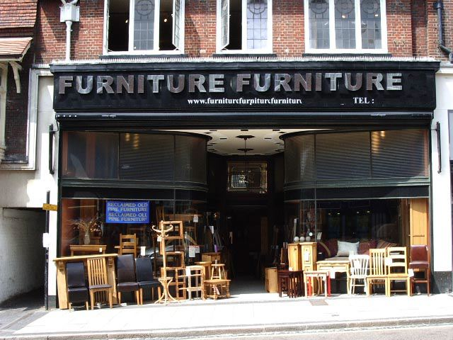 Furniture Shop With Art Deco Frontage